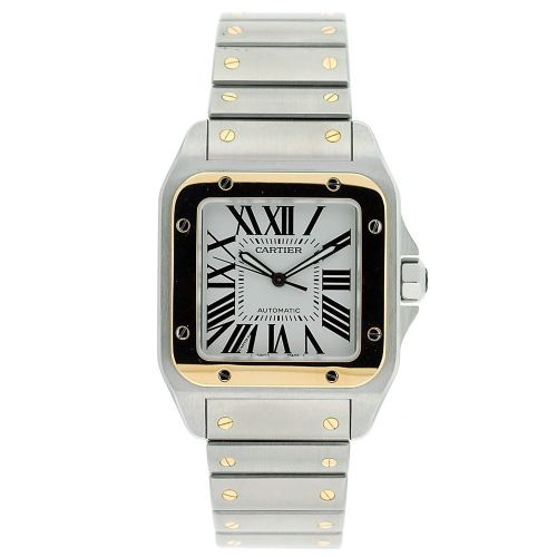 CARTIER Santos 100 AUTOMATIC Gents Watch W200728G